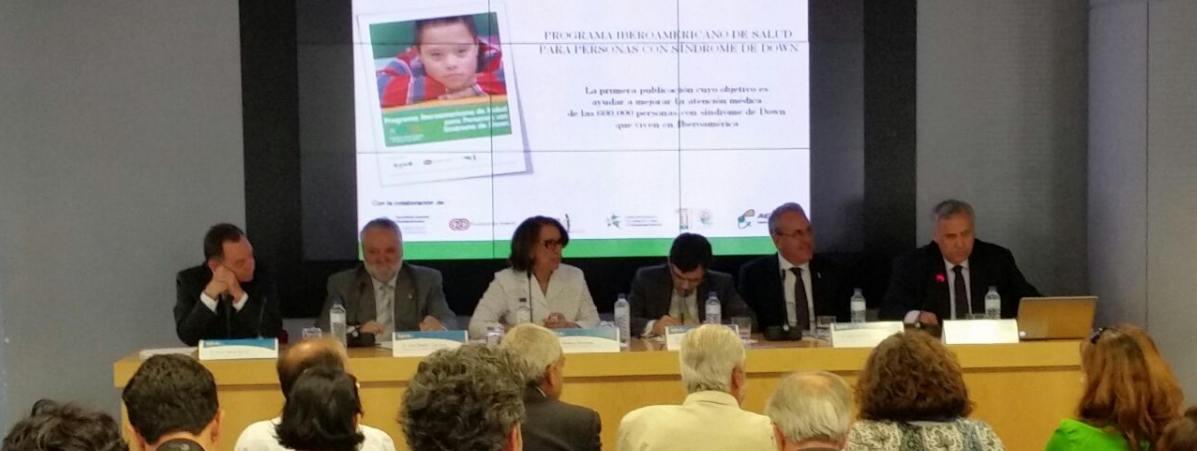 FIADOWN ha presentado el Programa Iberoamericano de Salud para Personas con Síndrome de Down en colaboración con el INIBEDI