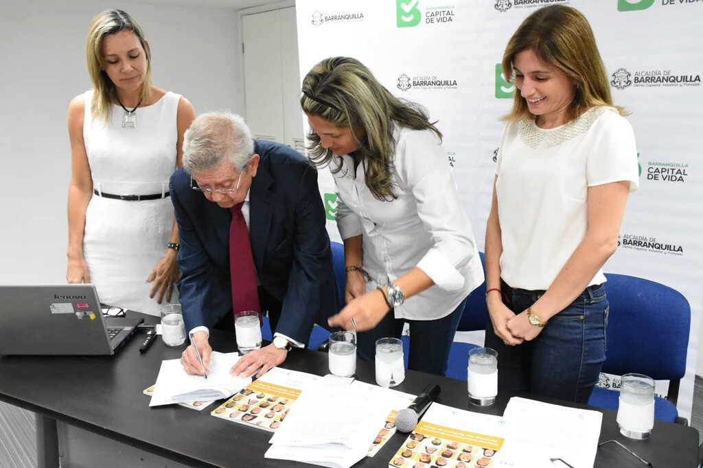 FIADOWN, FUNDOWN Caribe y la Alcaldía de Barranquilla (Colombia) firman un convenio para la atención sanitaria integral a personas con síndrome de Down, en la que colaborará el INIBEDI
