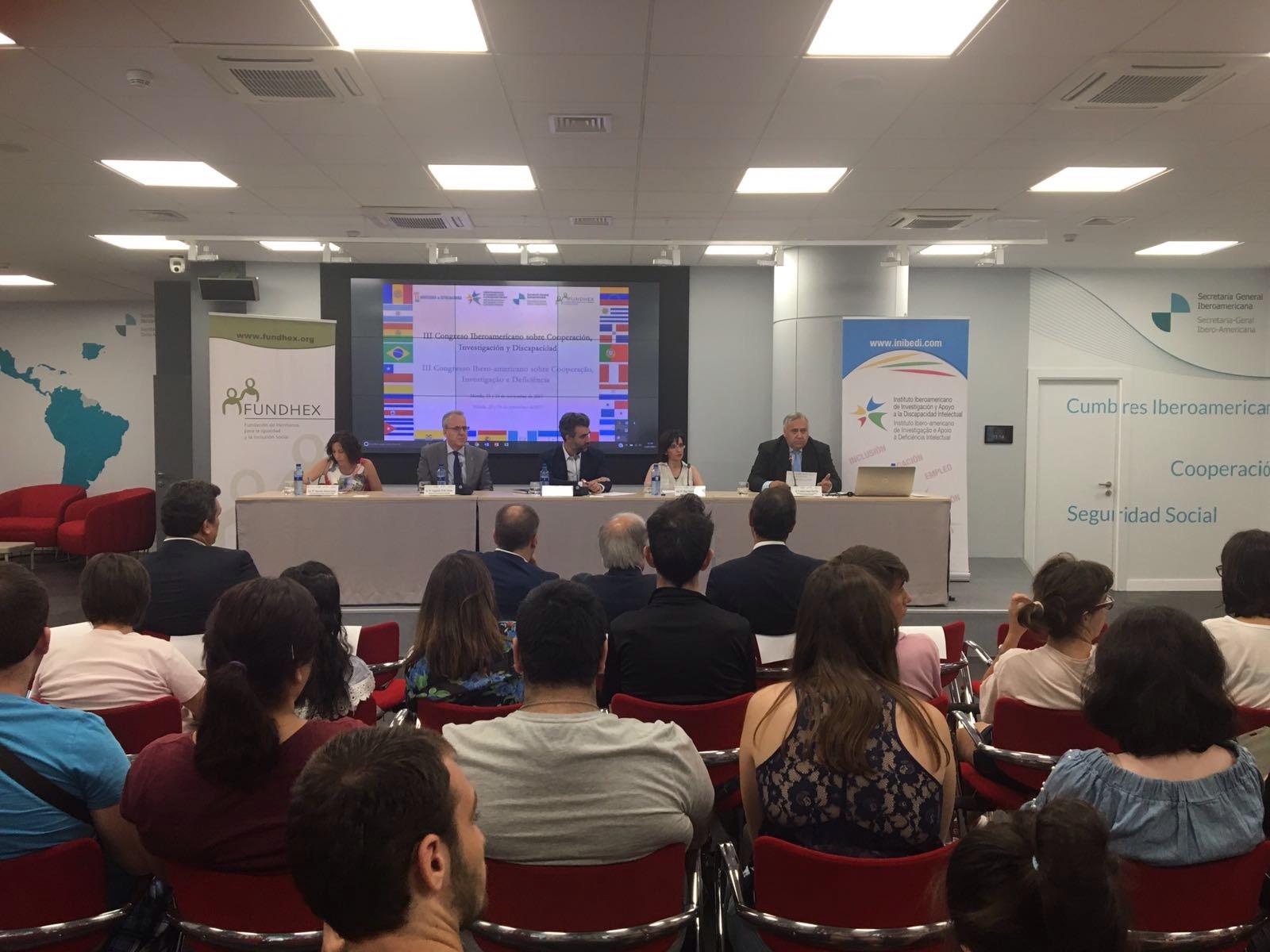 III Congreso Iberoamericano sobre Cooperación, Investigación y Discapacidad: Igualdad de género y la movilidad de las personas
