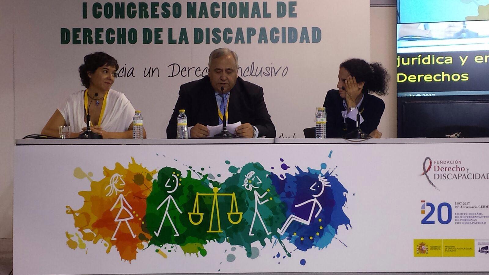 Inibedi participa en el I Congreso Nacional de Derecho de la Discapacidad