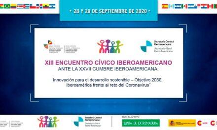 El Instituto Iberoamericano de Investigación y Apoyo a la Discapacidad Intelectual participa en el XIII Encuentro Cívico Iberoamericano.