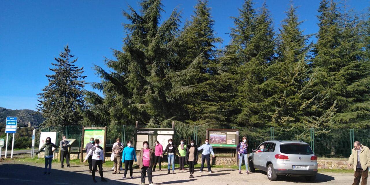 """En el día de ayer visitamos el Geoparque Mundial de la UNESCO Villuercas-Ibores-Jara, una salida de ocio perteneciente a las actividades planteadas en el Proyecto """"RESPIREX – RESPIRO FAMILIAR PARA FAMILIARES DE PERSONAS CON DISCAPACIDAD INTELECTUAL"""", concedido por la Diputación de Cáceres."""